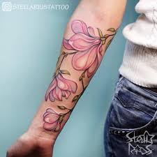 tattoo cherry blossom flower arm tattoo tattoo for women