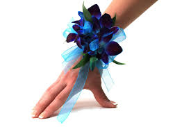 blue orchid corsage corsage orchid dendrobium field of flowers