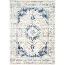 Blue And White Area Rugs Blue Rugs You Ll Wayfair