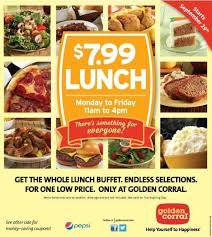 golden corral lunch menu menu world