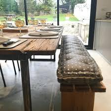 banc cuisine pas cher intérieur de la maison banquette de cuisine coussin pour banc