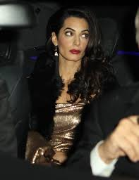 is amal clooney hair one length cele bitchy amal clooney believes george clooney s uneducated