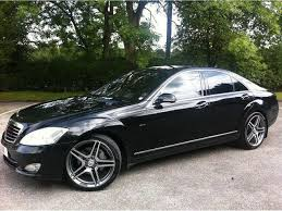 mercedes s class for sale uk used black mercedes 2006 diesel class s320 cdi 4dr saloon in