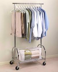 Decorative Metal Garment Floor Rack by Rolling Clothes Rack Goplus Commercial Grade Collapsible
