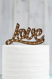 up cake topper marquee light up cake topper cake topper grain co