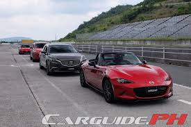 mazda car and driver driving fun is an exact science for mazda philippine car news car