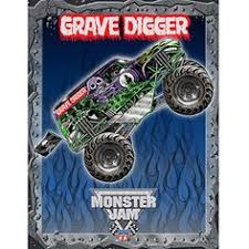 Monster Truck Bed Set 4pc Monster Jam Twin Bedding Set Grave Digger Monster Truck
