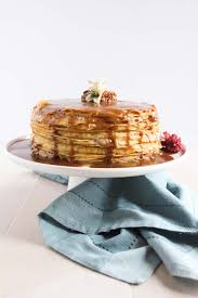 banana bread crepe cake with butterscotch recipe u2014 dishmaps