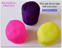 moodies colorful light bulb covers light bulb