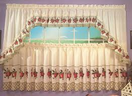 Grapes Kitchen Curtains Apple Trellis Kitchen Curtains