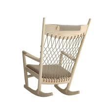 PP Møbler Wegner PP Rocking Chair By Hans Wegner Danish - Design rocking chair