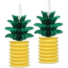 Pineapple Outdoor Lanterns Pineapple Paper Lanterns Walmart Com