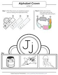 letter j worksheets recognize trace u0026 print