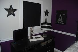 Purple And Black Bedroom Designs - bedroom extraordinary black bedroom desk more comfortable