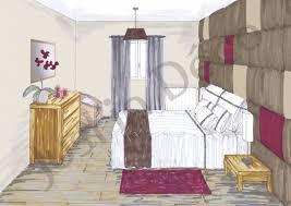 chambre en perspective chambre en perspective cavaliere mobilier décoration