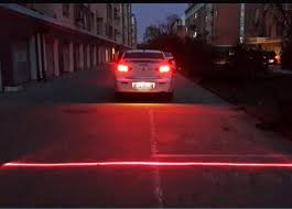 warning lights for sale anti collision rear end car laser safety fog taillight warning