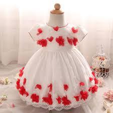 year birthday newborn baby dress christening