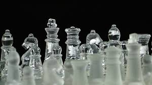 Glass Chess Boards Chess Mind Game Made Of Glass Stock Video Footage Videoblocks