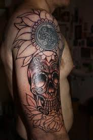 day of the dead tattoos for guys pictures to pin on pinterest