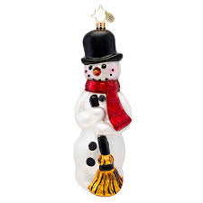 christopher radko ornaments 2014 radko snowman ornament classic