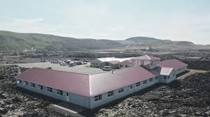 the northern lights inn an arial view of iceland s blue lagoon the northern light inn