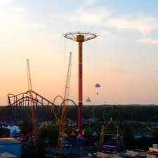 Six Flags New Jersery Six Flags Great Adventure U0026 Safari Jackson New Jersey Parachute