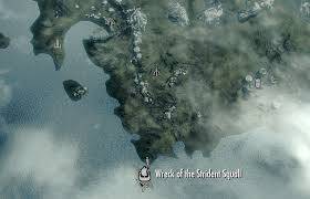 Elder Scrolls World Map by Image Wreck Of The Strident Squall Map Png Elder Scrolls
