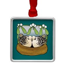 turtle dove tree decorations ornaments zazzle co uk