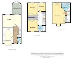 Conservatory Floor Plans 4 Bedroom End Of Terrace House For Sale In Clos Tylaway Radyr