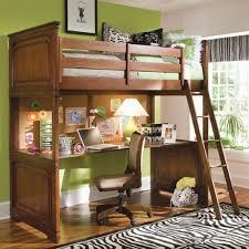 bunk beds with desks under them ideas