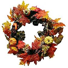 sannysis thanksgiving day large wreath with berry