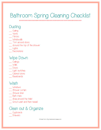 cleaning bedroom checklist spring cleaning tips for the bathroom ask anna