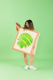 how to make an avocado toast costume for halloween this year