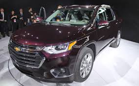 2018 chevrolet traverse unveiled in detroit picture gallery