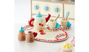 Asda Kettle And Toaster Sets George Home Wooden Tea Set Toys U0026 Character George