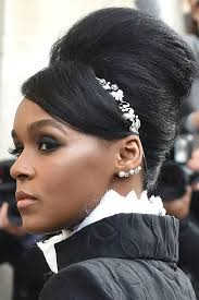 real hair janelle monae s fashion week hair owns our best beauty list