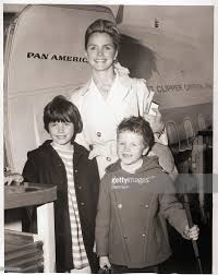 lee remick and children board airplane pictures getty images
