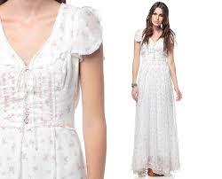 white bohemian dress dress ty