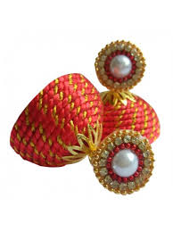 thread earrings ash creations silk thread earring handmade online gifts