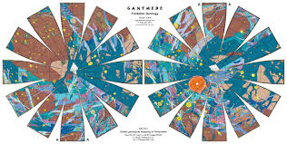 maps for globe ganymede foldable geology globe world maps with constant scale