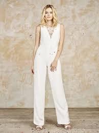 Wedding Dress Jumpsuit 95 Best Bridal Trousers Jumpsuits Images On Pinterest