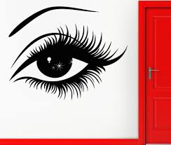 pvc home decoration wall sticker hot sexy girl eyes wall mural pvc home decoration wall sticker hot sexy girl eyes wall mural vinyl home decoration wallpaper removable wall sticker y 400 in wall stickers from home