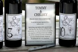 wine bottle guest book wine label guest book guestbook wine kit wine bottle guest