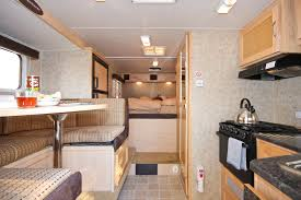 fraserway truck camper with dinette slide out