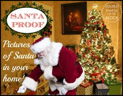 santa proof photos of santa in your home coolest family on the