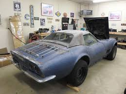 corvette project cars ebay find of the week 1968 chevy corvette project car