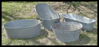 Antique Galvanized Bathtub Galvanized Wash Tub Galvanized Round Wash Tub This Weeks Awesome