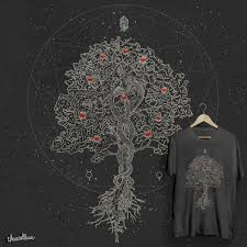 the tree of knowledge a cool t shirt by rikkilorie on threadless