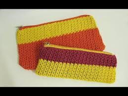 tutorial merajut alas tas crochet cara mudah memasang resleting pada rajutan merajut