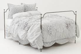 Ruffle Bed Set Bedding Tutorial Anthropologie Georgina Bedding Ruffle Twin